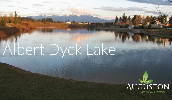 albert dyck lake in abbotsford bc
